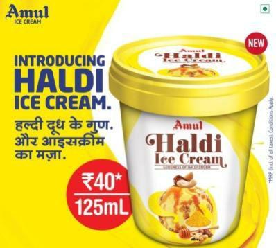 Amul introduce new haldi flavour